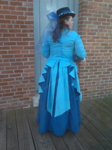 Victorian Cotton Day Dress Natural Form Just Blame Jane