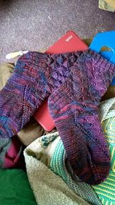 Arrow Lace Socks