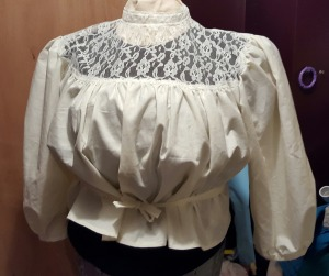 Mostly finished blouse