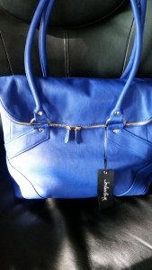 Quinn bag in cobalt by Jordana Paige