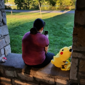 A girl and her Pikacu